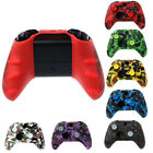 Camouflage Silicone Rubber Skin Protective Case Cover For Xbox One S Controller