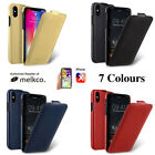 Melkco Real Leather Flip Front Ultra Slim Handmade Case For Apple iPhone X  New