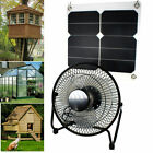 Solar Powered Fan Mini Ventilator for Dog House Greenhouse Chicken House RV Roof