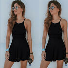 Women Summer Short Mini Dress Evening Cocktail Party Beach Sundress Bikini Cover