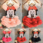 baby girl minnie mouse costume - Kids Baby Girls Outfits Clothes Minnie T-shirt Tops + Tutu Dress Skirt 2PCS Sets