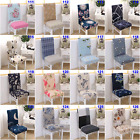 Dining Chair Covers Stretch Removable Slipcover Spandex 2 4 6 8Pcs Wedding Cover