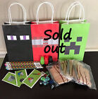 minecraft creeper party supplies - 🎉Minecraft Birthday Party Supplies Party Favors Pick Axe Easter Basket Filler