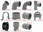Polypipe 50mm Push Fit Waste Pipe Fittings in Grey
