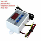 220V/12V/24V Digital LED Temperature Controller 10A Thermostat Control Switch