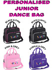 Personalised FREE! Junior Retro style Dance Bag 39cmx 29cmx 16cm .....4 colours
