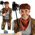 Chimney Sweep Bert Victorian Historical Adult Mens Fancy Dress Costume