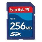 Sandisk 1GB 256MB 128MB 64MB SD Card with Case