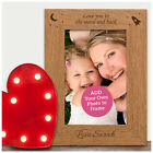 PERSONALISED Mothers Day Gifts Mum Mummy Nanny Nan Engraved Photo Frames Picture