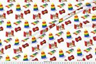 Baby Toys Hammer Ring Toy Fabric Printed by Spoonflower BTY