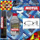 2x BENDIX 341-MF & RBF660 & P2 BRAKE PADS FLUID CLEANER FITS MOTORCYCLES LISTED