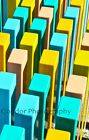 Amazing Abstract photography with unique colorful pillars ready for prints