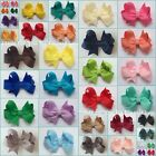 *WHOLESALE* Baby Girl's Handmade 2 inch Butterfly Ribbon Hair Bow Clip bobble