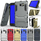 Hybrid Rugged Shockproof Protective Stand Case Cover For Samsung Galaxy Note 4 5