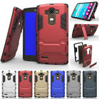 For LG G4 Hybrid Rugged Shockproof Heavy Duty Armor Stand Hard Rubber Case Cover