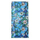 Static Cling Floral Stained Glass Window Door Sticker Film Privacy Home Decor