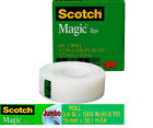 Scotch Magic Tape 3M, 3/4 in x1500 in , invisible jumbo roll