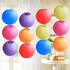 UK Smart 10' 12' 14' Round Paper Lanterns Lamp Shade Wedding Birthday Party