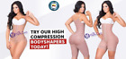 body shaper with straps - Full Body Shaper with 3 Hooks for Women Fajas Colombianas Reductoras Fajate