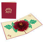 Mother's day 3D Pop Up Card Lover Birthday Anniversary Greeting Cards Invitation
