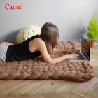 Super Soft Chunky Knit Blanket Thick Line Giant Yarn Throw Home Bedding Decor