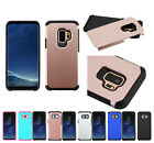 for Samsung Galaxy S9 G960 Dual Layer Rugged Hybrid TPU Case Cover+Prytool