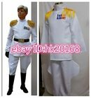 Imperial Master Admiral Cosplay Apparel White Uniform COS