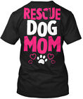 Great gift Rescue Dog Mom - Hanes Tagless Tee T-Shirt Hanes Tagless Tee T-Shirt