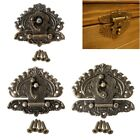Vintage Retro Style Decorative Hasp Toggle Suitcase Box Lock Hook Latch Buckles