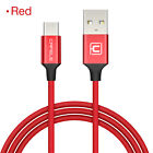 1/4/6FT Braided Type-C USB FAST Data Charger Cable Lead for Samsung S9 S8 S8+
