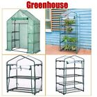 Portable Growing Rack Planter Outdoor Walk In Garden Stand Greenhouse Kit +Cover