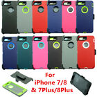 For Apple Iphone X 8 7 6s Plus Case W/ Screen & Belt Clip Fits Otterbox Defender