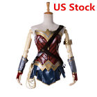 Wonder Woman Diana Prince Adult Dress Cosplay Costume Justice League Outfit