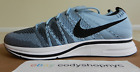 DS Nike Flyknit Trainer Cirrus Blue Black White running gym mens unc AH8396 400