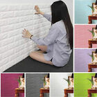 PE Foam 3D DIY Wall Stickers Wall Decor Embossed Brick Stone Room Decor Backdrop