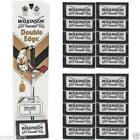 Wilkinson Sword Double Edge Razor Blades Barber Cut - 5,10,15,20,25,50,100,200