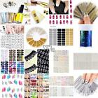 Nail Art Design Water Transfer Nails Sticker Colorful Nails Wraps Decals TXST