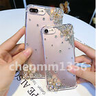 3D Bling Handmade Soft TPU Ultra Thin Transparent Back Case Cover Y01 #2