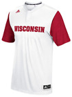 adidas Wisconsin Badgers On-Court Player Issue Shooting Top men basketball team image