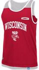 adidas Originals Wisconsin Badgers Retro Historic 2-Tone Logo Tank men football  image