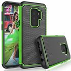 For Samsung Galaxy S9 / Plus - Hybrid Shockproof Duty Rubber Hard Case Cover