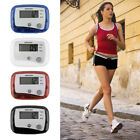 Mini Digital LCD Pedometer Run Jogging Step Walking Distance Counter New SLO