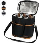 Внешний вид - OPUX 6 Bottle Wine Tote Carrier Portable Insulated Carrying Bag Wine Holder