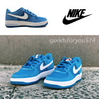 blue gs4 - NIKE AIR FORCE 1 596728-426 BLUE/WHITE  GS 4Y~7Y 100% AUTHENTIC