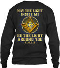 Freemason The Light Inside - May Me G Be Around Gildan Long Sleeve Tee T-Shirt