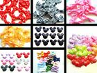HAIR CRAFT BOWS APPLIQUES MICKEY MINNIE MOUSE STRAWBERRY GINGHAM SEQUIN HEARTS