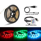 color changing led lighting - USB 5V LED Strip Light TV backlight 5050 RGB Mood Light Color Changing Light Kit