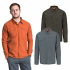 Trespass Darnet Mens Mosquito Repellent Shirt Fishing Camping Long Sleeved Top
