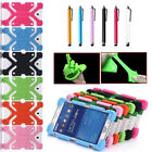 Universal Shockproof Silicone Cover Case For ZTE Trek 2 HD K88 8 Inch Tablet