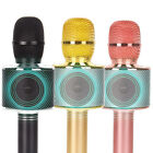 3-in-1 Portable Wireless Karaoke Microphone Bluetooth USB Speaker Mini Home KTV